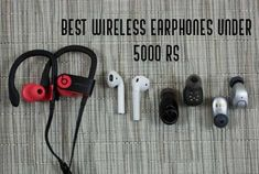 10 Best Wireless earphones under 5000 Rs that we believe will give you amazing music experience which you crave for at this budget Amazing Music, Good Music, Best Wireless Earphones, Sweat Proof, Noise Cancelling, Budget, India, Stuff To Buy, Goa India