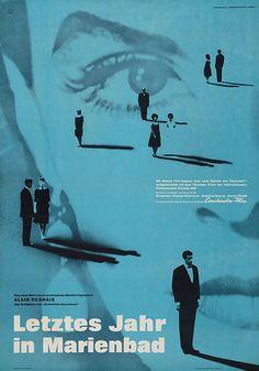 Last Year At Marienbad - an Alain Resnais film