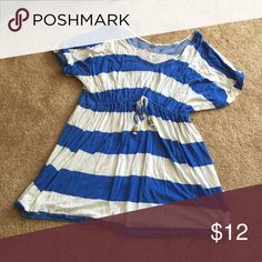Nautical flowy shirt Soft and comfy, perfect for a day at the beach  fits a medium or large Sonoma Tops Tees - Short Sleeve