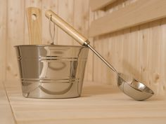Sauna - Sauna opgiet emmer - Bucket
