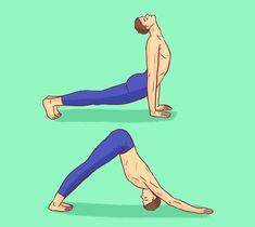 8 egyszerű gyakorlat, amitől a tested fiatalabbnak fogja érezni magát | Kuffer Home Exercise Program, Home Exercise Routines, Workout Programs, Workout Dvds, Gym Workouts, At Home Workouts, Yoga Position, Plank Pose, Workout Routines