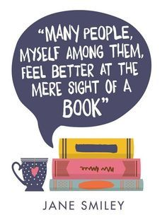 Book therapy.