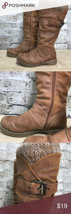 Marco Tozzi Brown Calf Boots SZ 37 Marco Tozzi Brown Calf Boots SZ 37 (US size 7). Pre-owned condition. Please see pictures for fine details. The pictures are part of the description. Thank you for looking and I invite you to check out my closet as well as my boutique! Save 15% by bundling two items! Marco Tozzi Shoes Winter & Rain Boots