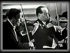 Bach Double Violin Concerto - Yehudi Menuhin And David Oistrakh (sound HQ)