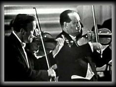 Bach Double Violin Concerto - Yehudi Menuhin And David Oistrakh