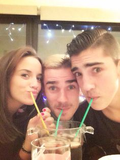 Erika, Antoine et Théo ✨ | We Heart It | antoine griezmann ...