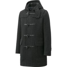 MEN WOOL BLENDED DUFFLE COAT | UNIQLO
