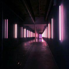 Deвιsтe cσnσcerlσ ➹YoonMin➷ - ∆Cuarenta y seis∆ - Wattpad Neon Lighting, Lighting Design, Club Lighting, Neon Rosa, Light Tunnel, 16 Bars, Neon Aesthetic, Club Design, Light And Space