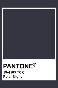 Pantone Tcx, Pantone Colour Palettes, Pantone Color, Polar Night, Design Textile, Black And White Aesthetic, Gray Aesthetic, Colour Pallette, Colour Board