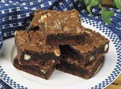 Recette de Brownies suprêmes au chocolat