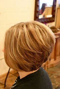 Stacked Bob Hairstyles Back View | short stacked bob haircut pictures back view - Bing ... | Hair Ideas