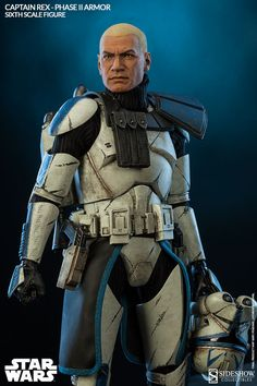 Star Wars Captain Rex Sixth Scale Figure by Sideshow Collec - Star Wars Stormtroopers - Ideas of Star Wars Stormtroopers - Star Wars Captain Rex Sixth Scale Figure by Sideshow Collec Star Wars Rpg, Star Wars Rebels, Star Wars Clone Wars, Gi Joe, Star Wars Timeline, Star Wars Personajes, Star Wars Outfits, Star Wars Images, Star Wars Gifts
