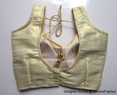 Readymade Saree Blouse copper lining color by JahanviFashionShop