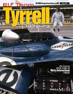 JOE-HONDA-Racing-Pictorial-Vol-27-ELF-Team-Tyrrell-1970-73-Model-factory-Hiro