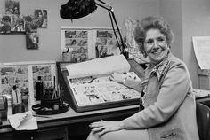 Dale Messick, creator of the Brenda Starr comic strip