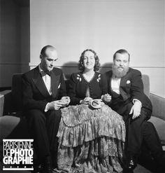 Boris Kochno (1904-1990), Marie-Laure de Noailles (1902-1970), Christian Bérard (1902-1949) 1938*