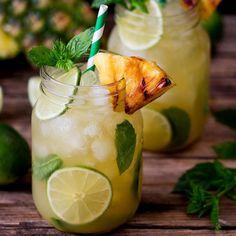 Pineapple Ginger Mojitos  - Redbook.com