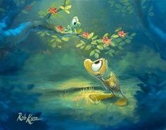Rob Kaz Art - Hello Ollie 11x14