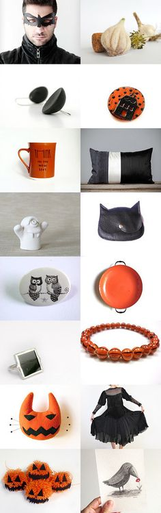 Getting ready for Halloween by Anna on Etsy--Pinned with TreasuryPin.com