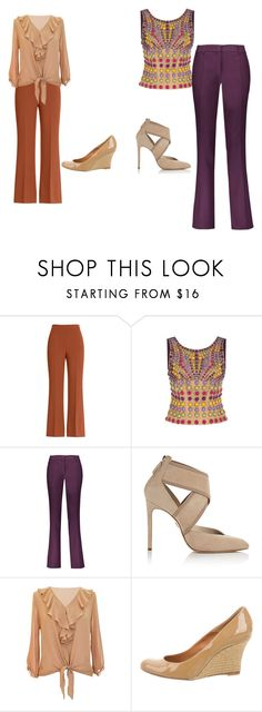 trab by eteralucia on Polyvore featuring interior, interiors, interior design, casa, home decor, interior decorating, Alberta Ferretti, Etro, Fendi and Lanvin