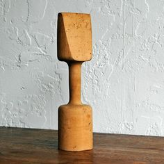 Primitive Mold Mallet - I used one of these for packing clay in foundry molds for a junior high metalworking class.