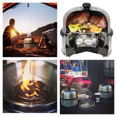 I want to go camping! COBB CHEF USA.