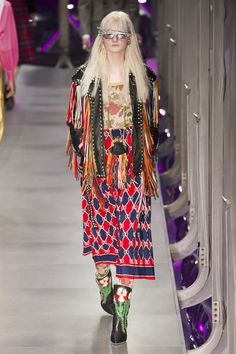 Gucci/Key Fashion Trends Fall 2017, On The Fringe The Impression