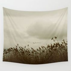 Windy Reeds Wall Tapestry by ARTbyJWP From Society6 #tapestry #walltapestry #walldeco #landscape #homedecor  ---   Available in three distinct sizes, our Wall Tapestries are made of 100% lightweight polyester with hand-sewn finished edges. Featuring vivid colors and crisp lines, these highly unique and versatile tapestries are durable enough for both indoor and outdoor use. Machine washable for outdoor enthusiasts, with cold water on gentle cycle using mild detergent - tumble dry with low…