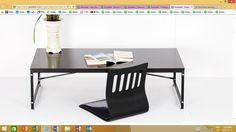low rise foldable study desk