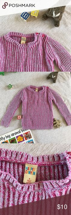 Harper canyon gray and pink cable knit sweater 3T Super cute gay and pink chunky knit sweater size 3T. Excellent preloved condition. Nordstrom. Tea Collection. Tucker and Tate. Peek Kids. harper canyon Shirts & Tops Sweaters