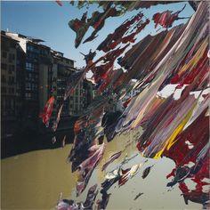 """""""Firenze"""", 2000 // Gerhard Richter (German, born 1932) // #art #painting #abstract"""