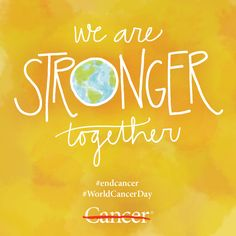 Each day, our cancer patients, survivors and those we've lost to cancer who fuel our efforts to #endcancer. Today, in honor of World Cancer Day, re-pin this image and show your support for all those who've been touched by cancer. #HelpingWomenNow