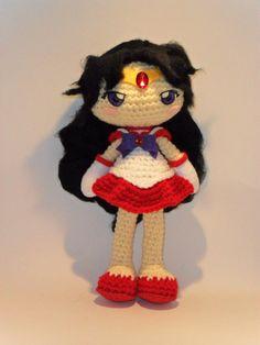 Sailor marte crochet doll por CoconosLittleShop en Etsy