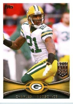 2012 Topps Football Card #390 Charles Woodson - Green Bay Packers (NFL Trading Card)