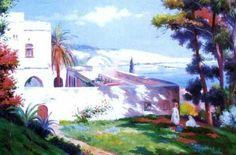 Gustave Lemaitre (1862 – 1920) Vue - Alger