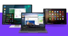 Review Phoenix OS Android untuk Desktop PC Alternatif Remix OS