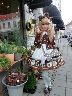 Melva Yan - Angelic Pretty Melty Chocolate Sweet Lolita Coord