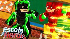 Minecraft: JOGUEI AMOEBA NO PROFESSOR BATMAN E OLHA NO QUE DEU #30 ( ESC...