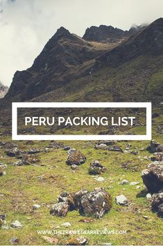 Find out what clothes and gear to take with you when visiting Peru and doing the Inca Trail and more. #travel