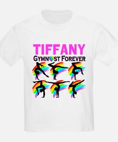 GYMNAST FOREVER T-Shirt Brand New! Personalized Gymnastics Tees and Gift for your awesome Gymnast http://www.cafepress.com/sportsstar/10114301 #Gymnastics #Gymnast #WomensGymnastics #Lovegymnastics #PersonalizedGymnast