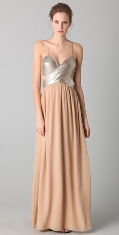 Sheri Bodell Goddess Maxi Dress thestylecure.com