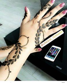 Floral Henna Designs, Henna Designs Feet, Arabic Henna Designs, Mehndi Designs For Beginners, Modern Mehndi Designs, Mehndi Design Pictures, Wedding Mehndi Designs, Mehndi Designs For Fingers, Beautiful Mehndi Design