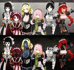 Anime Girl Hot, I Love Anime, Overlord Anime Season 2, Character Art, Character Design, Anime Maid, Another Anime, Chica Anime Manga, Pics Art