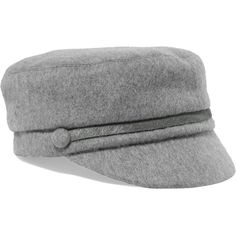 26f68358ba1 Eugenia Kim Elyse calf hair-trimmed cashmere-felt cap (3.270.090 IDR