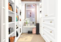 "Sam Lily closet/beauty room ""Wardrobes 