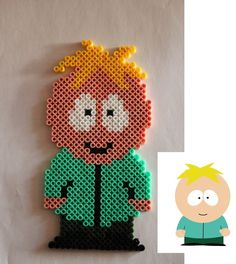 South Park- Butters hama perler beads by Xeina-rose-of-death