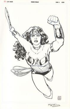 Wonder Woman Cover by artist Cliff Chiang.