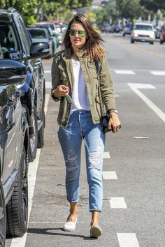 Alessandra Ambrosio Photos - Alessandra Ambrosio Goes Out with Son Noah - Zimbio