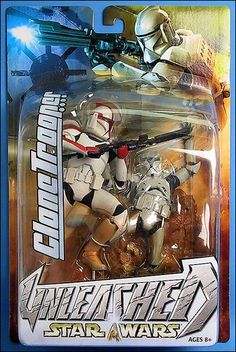 Star Wars: Unleashed Clone Trooper (Captain) by Hasbro