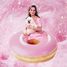 Pin for Later: You Won't Know What to Think When You See This Meryl Streep Instagram Meryl Streep + Doughnut